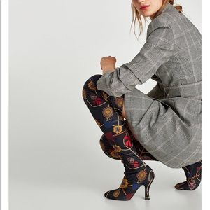 Zara over the knees boot
